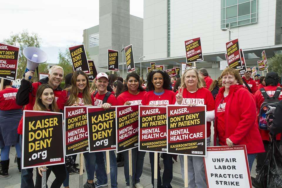 Kaiser Mental Health Workers Strike | Post News Group