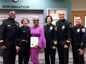 Sheree Wright-Cox, First African-American Female Police