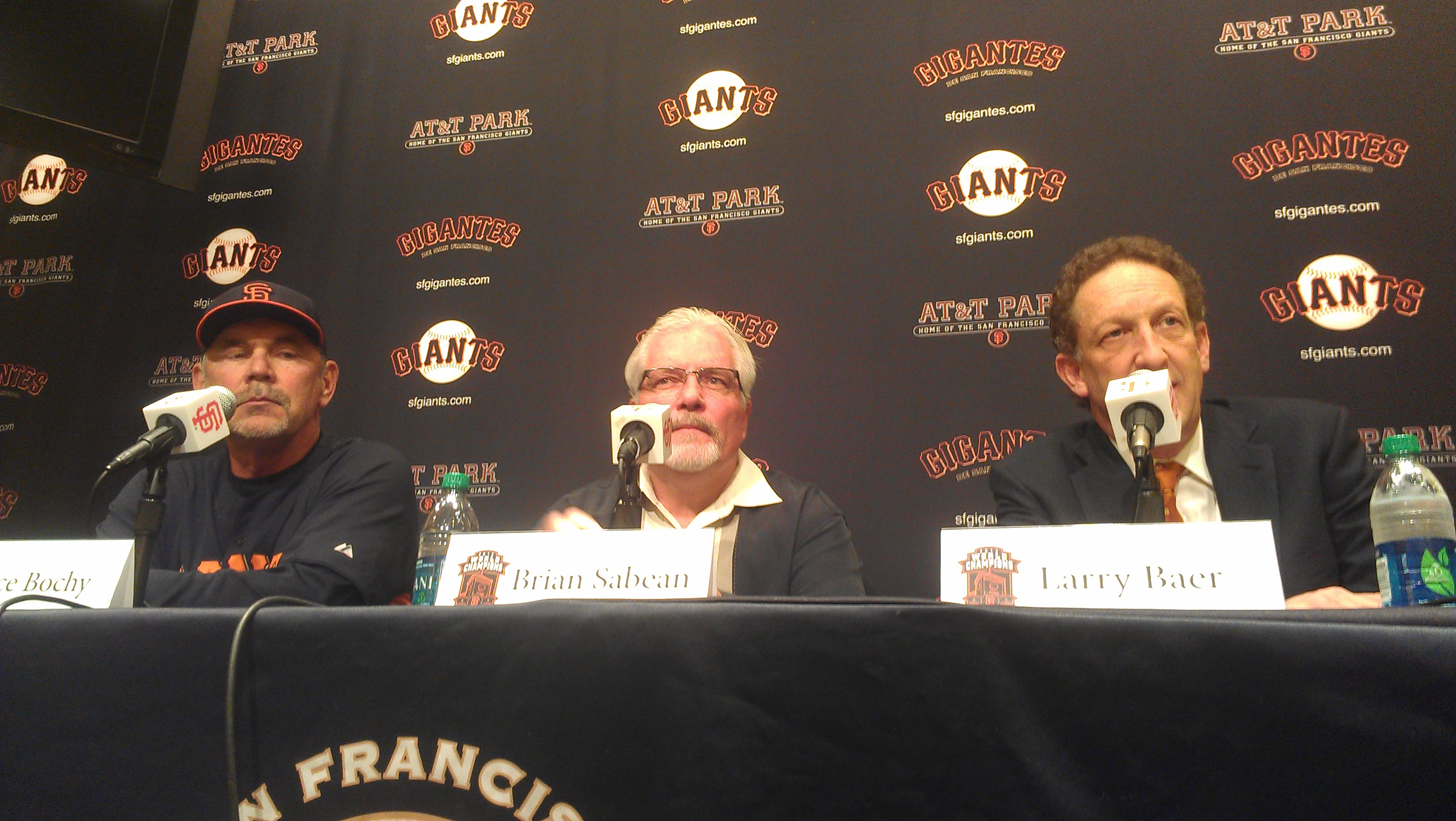 San Francisco Giants CEO takes leave of absence after altercation with wife